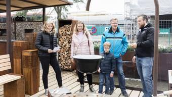 Wettingen - Die Frühlingsmesse «Bauen und Wohnen» öffnete gestern im «Tägi» ihre Türen