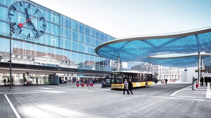 Auch die Stadt Aarau wird in der «Swiss Squares App» virtuell verewigt.