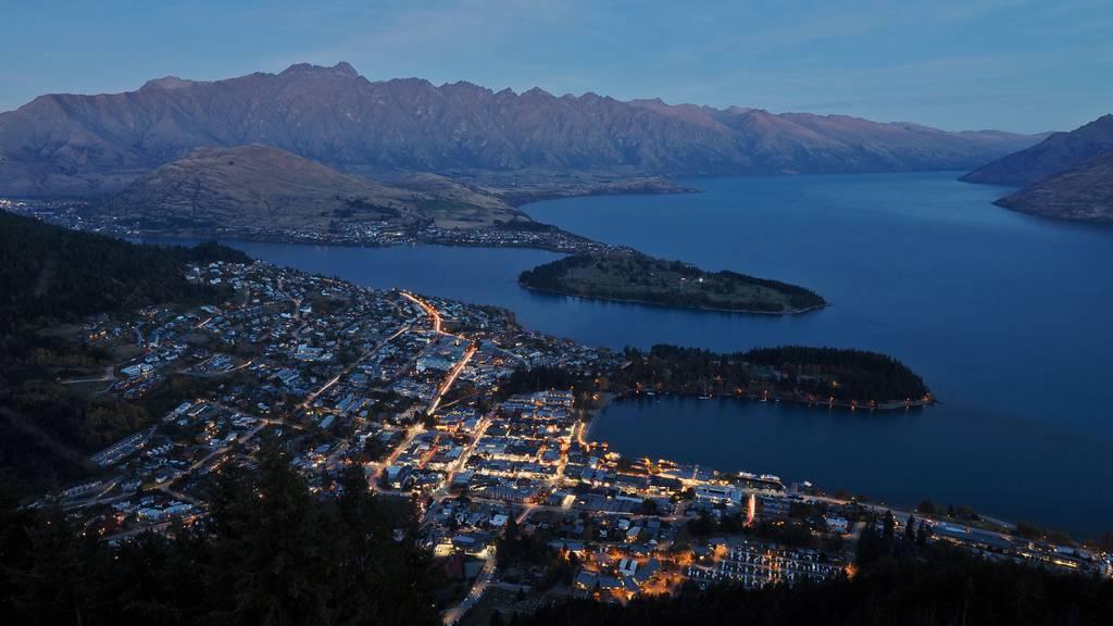 Vollbremsung in Neuseeland
