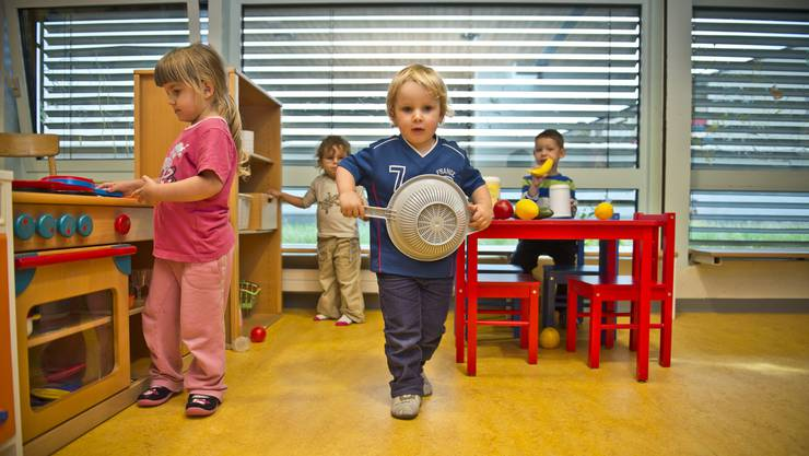 Den Kindern ist Wurst, wer was bezahlt; Hauptsache ist, die Zeit in der Kita macht Spass. (Symbolbild)
