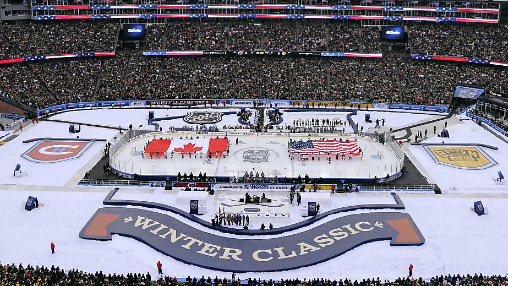 Die Winter Classic findet ebenso wie das All-Star-Game in dieser NHL-Saison nicht statt