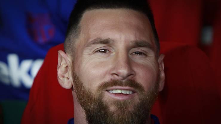 Lionel Messi holte seine sechste Weltfussballer-Trophäe ab