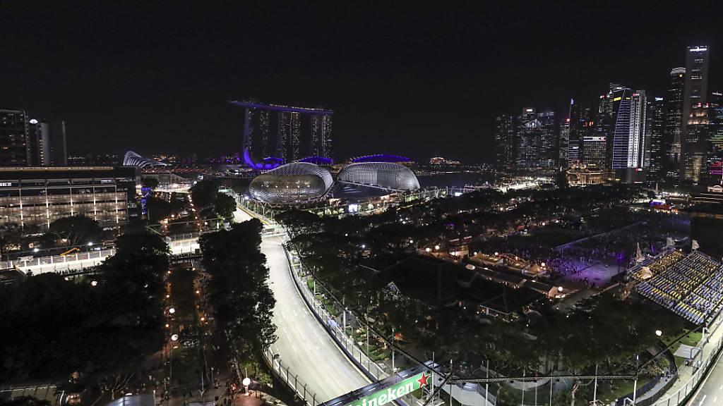 Die Formel-1-Strecke in Singapur bleibt auch in diesem Jahr unbefahren
