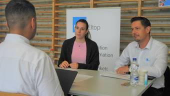 Für Lehrbetriebe wie die EKZ Eltop eignet sich die Lehrstellenbörse, Jugendliche persönlich kennenzulernen.