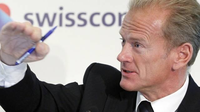 Swisscom-Chef Carsten Schloter (Archiv)