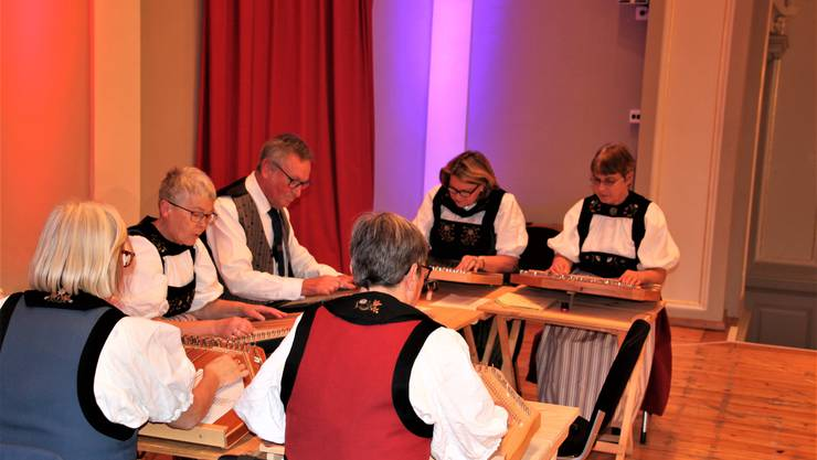 Zithergruppe Kirchleerau