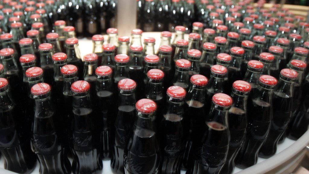 Getränke waren im August auch in der Werbung hoch im Kurs.