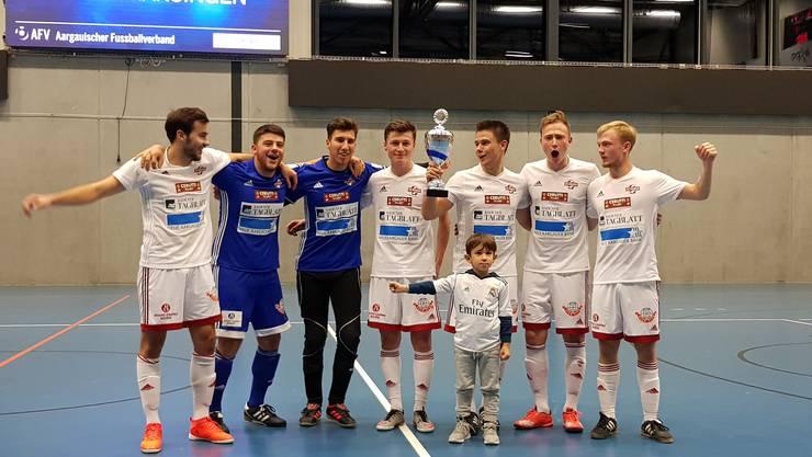 FC Baden gewinnt AFV Futsal-Cup