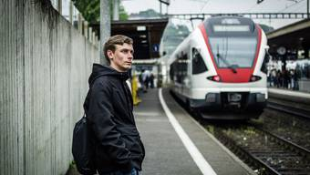 Reiste reines Gewissens nach Aarau und landete trotzdem in der Zelle: Der 19-jährige Pascal Werner aus Seengen.