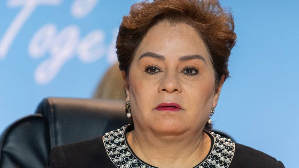 ARCHIV - Patricia Espinosa, UN-Klimachefin, aufgenommen bei der Eröffnung des Talanoa-Dialoges beim Weltklimagipfel. Foto: Monika Skolimowska/dpa-Zentralbild/dpa