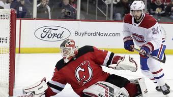 Torhüter Cory Schneider war der Matchwinner von New Jersey beim 2:1-Sieg gegen die Montreal Canadiens