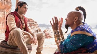 """""""Aladdin"""" hat am Wochenende vom 30. Mai bis 2. Juni 2019 schweizweit die Spitze der Kinocharts erreicht. (Archivbild)"""