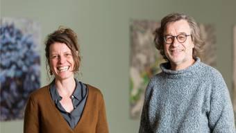 """""""Baden kann stolz sein auf den Kunstraum"""": Simone Müller und Stefan Häuselmann präsidieren den neuen Verein."""