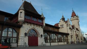 Wegen Renovation geschlossen: Das Schützenhaus Albisgütli ist ein Zeuge der Festkultur des 19. Jahrhunderts, wie der Zürcher Regierungsrat festhält.
