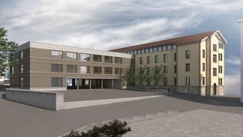 Das geplante Schulzentrum Halde ist ein Symbol für die neue Infrastruktur Wohlens, die nun nicht länger vernachlässigt wird.