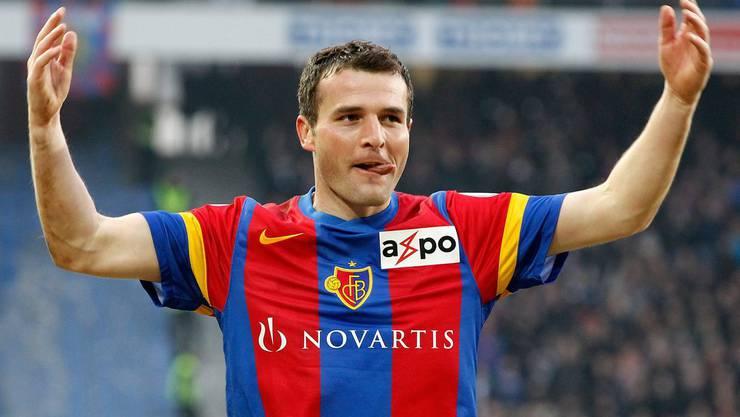 Alex Frei, der beste Schweizer Stürmer aller Zeiten verlässt den FCB.