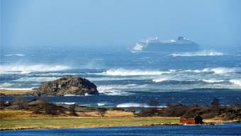 Die «Viking Sky» ist wegen niedrigen Öldrucks in Seenot geraten. Frank Einar Vatne/epa/key