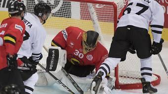 Am Ende machtlos: SCB-Goalie Leonardo Genoni musste sich in Turku dreimal geschlagen geben