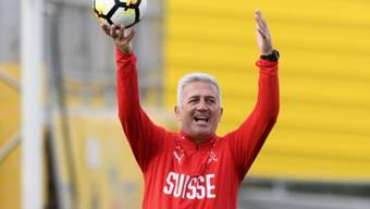 """Vladimir Petkovic hat das Schweizer 23-Mann-Kader für die WM-Endrunde in Russland bis auf """"ein oder zwei Positionen"""" im Kopf"""
