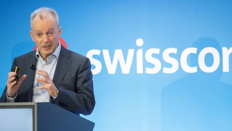 Swisscom-CEO Urs Schaeppi. (Archivbild)
