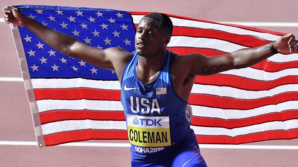 Coleman verpasst erneut einen Doping-Test