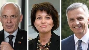 Neben Verteidigungsminister Ueli Maurer kommen im Extrablatt auch Doris Leuthard und Didier Burkhalter zu Wort.