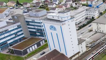 Zügelt 150 Arbeitsplätze nach Egerkingen: Omya-Hauptsitz in Oftringen.