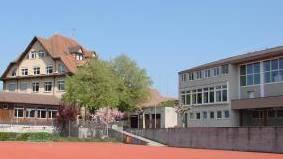 Schulareal Hägglingen: Hier wüteten die Vandalen.