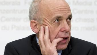 Verteidigungsminister Ueli Maurer