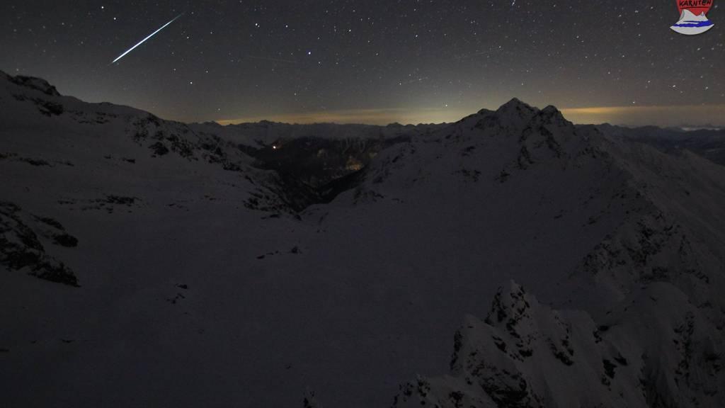 Ein grosser Meteor wurde über dem Süden von Österreich gesichtet.