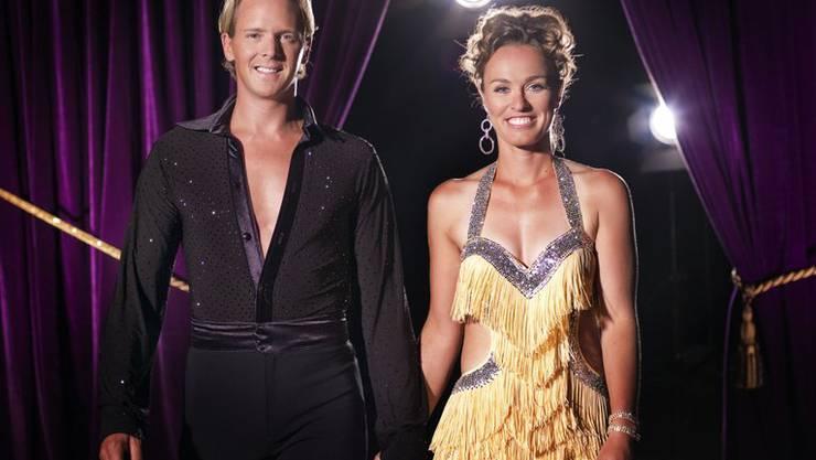 """In der BBC-Hitserie """"Dancing Stars"""" mit von der Partie: Martina Hingis (Bild: BBC)"""