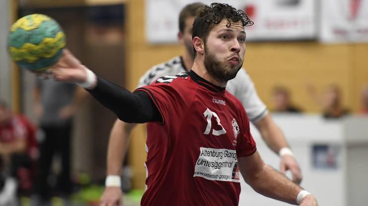 Marius Moser vom HSG Siggenthal/Vom Stein Baden.