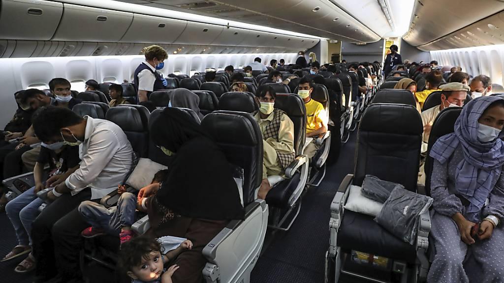 Der US-Flugzeughersteller Boeing führt auf Geheiss des amerikanischen Präsidenten, Joe Biden, eine Impfpflicht für alle 125'000 US-Mitarbeitende ein. (Archivbild)