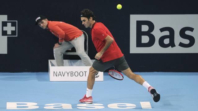 Roger Federer gewinnt in Basel zum achten Mal