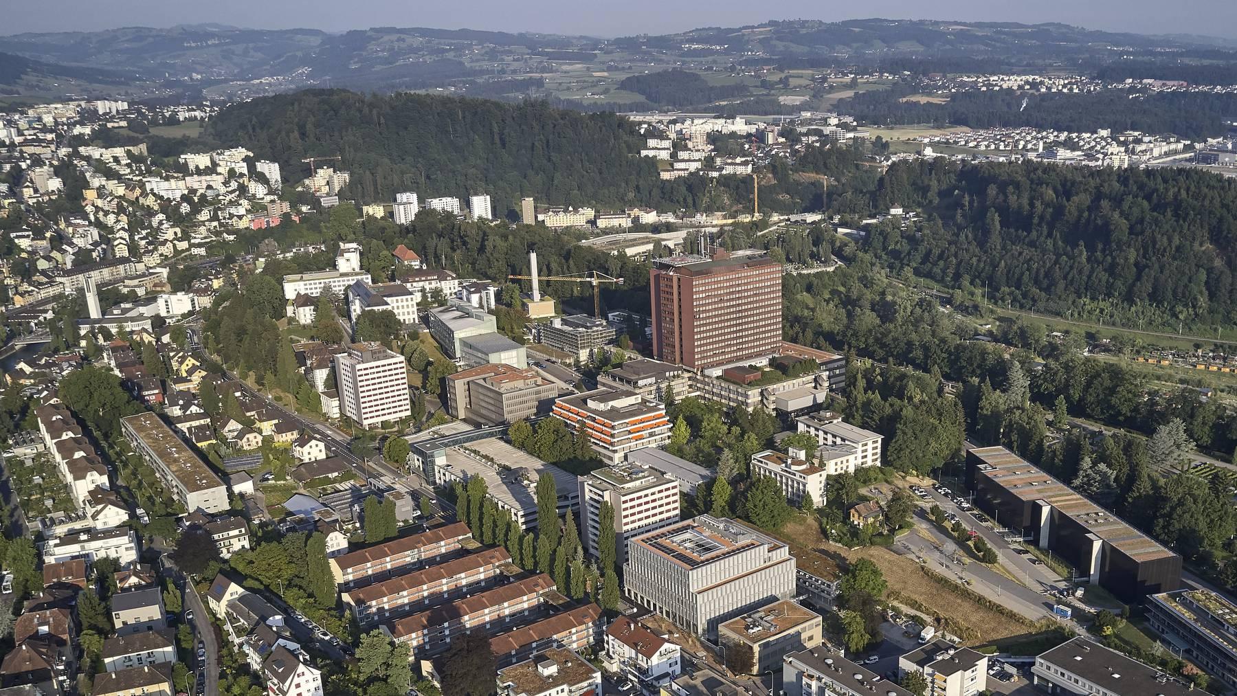 Das Areal Ost des Luzerner Kantonsspital (LUKS).