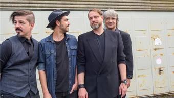Ellis Mano Band: Edis Mano, Severin Graf, Chris Ellis und Nico Looser (von links).