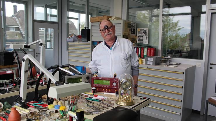 Markus Bandi verbrachte seine ganze berufliche Karriere bei der Firma Titoni.