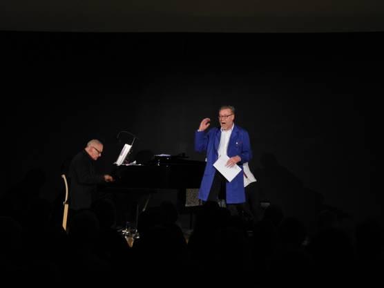 Und jetzt singt er auch noch - Markus Notter im Dietiker Stadthaus