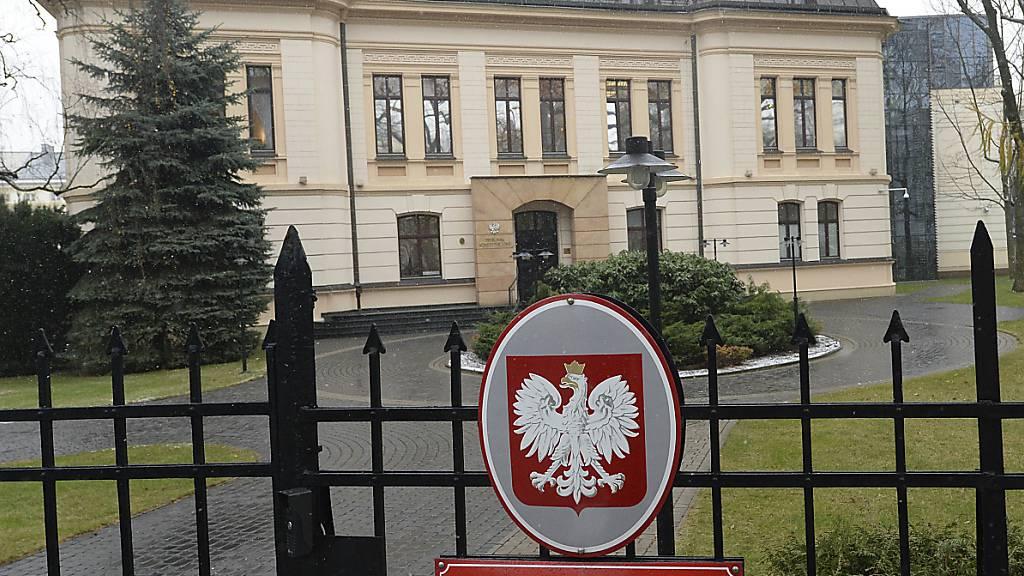 ARCHIV - Das polnische Verfassungsgericht in Warschau. Foto: Czarek Sokolowski/AP/dpa