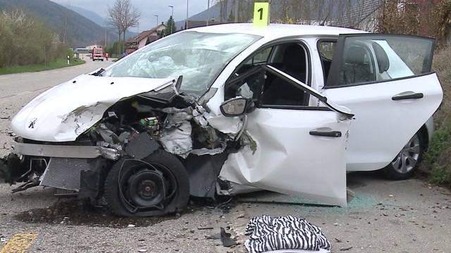 4 Verletzte bei Unfall in Matzendorf