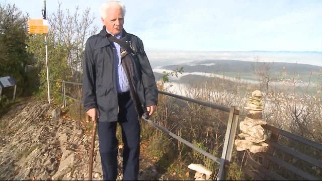 Rentner wandert 10'000 Mal auf die Lägern