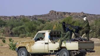 Die Tuareg-Rebellen erklären ihre Unabhängigkeit im Norden Malis (Archiv)