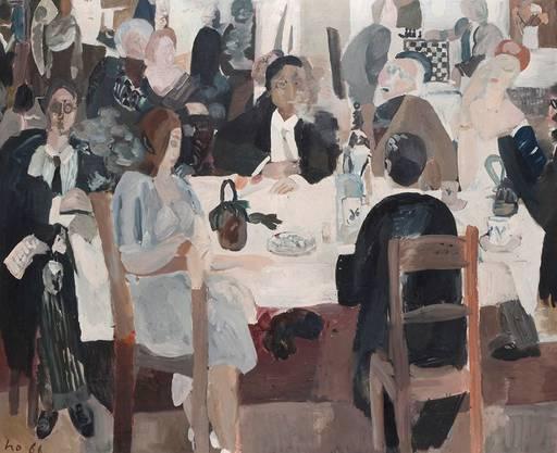 Werner Holenstein - Am Tisch (1966)