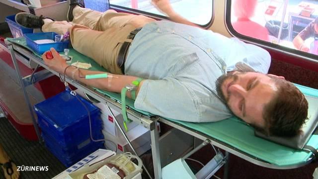 Interesse an Blutspenden sinkt wegen Hitze
