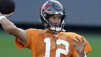 Ein ungewohntes Bild: Quarterback-Superstar Tom Brady im Dress der Tampa Bay Buccaneers
