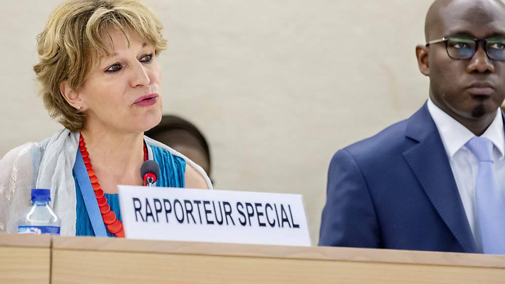 Agnès Callamard, die Uno-Berichterstatterin über willkürliche Hinrichtungen, hat ihren Bericht zum Khashoggi-Mord am Mittwoch in Genf im Uno-Menschenrechtsrat vorgestellt. Sie fordert einen verstärkten Schutz der Uno für Dissidenten.