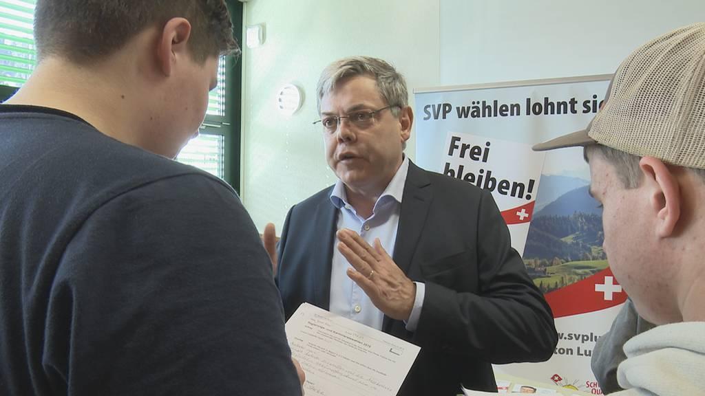 SVP Luzern greift CVP-Ständeratssitz an