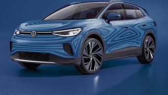 Den elektrischen Crossover I.D.4 will VW spätestens Anfang 2021 auf die Strasse bringen.
