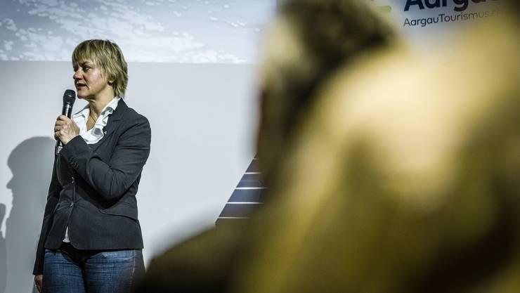 Die neue Aargau-Tourismus-Direktorin ist nach nur drei Monaten schon wieder weg: Barbara Studer.