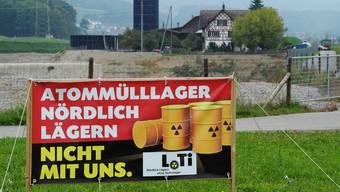 Ob sich die Nein-Kampagne der Gegner eines Atommülllagers «Nördlich Lägern» ausgezahlt hat, ist auf einen Schlag wieder offen.